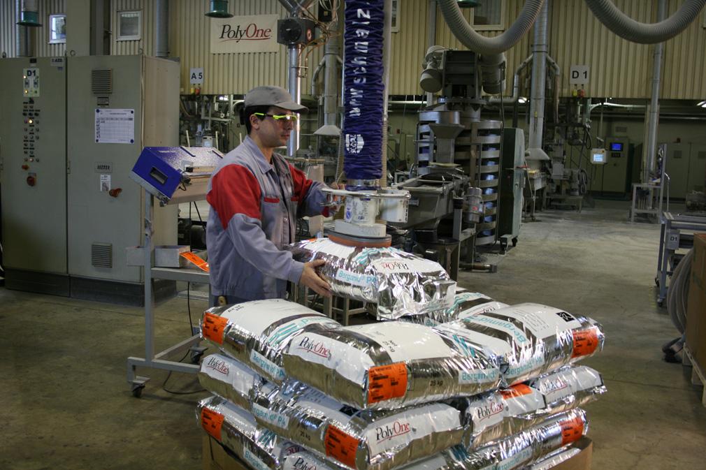 Schlauchheber für Kunststoffsäcke