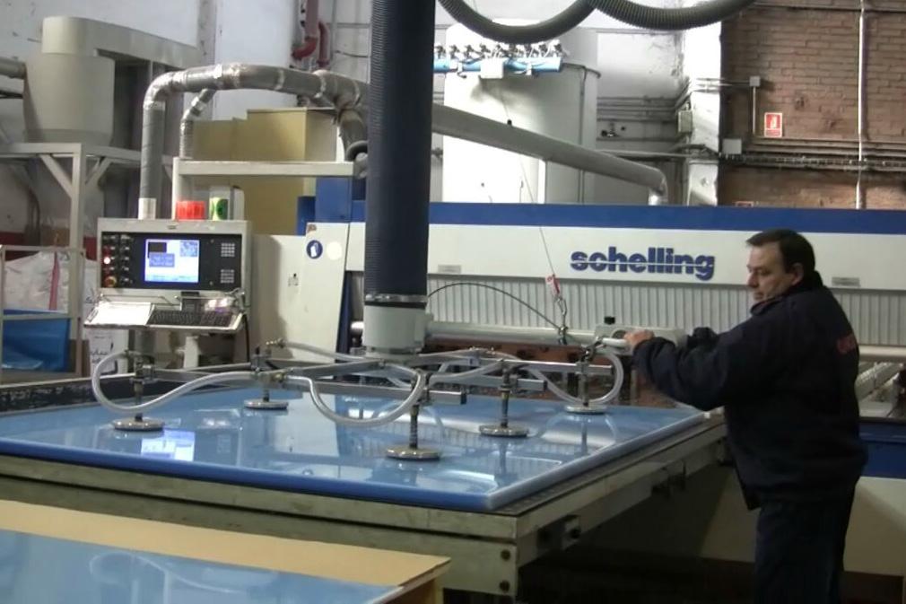Schlauchheber für Kunststoffplatten
