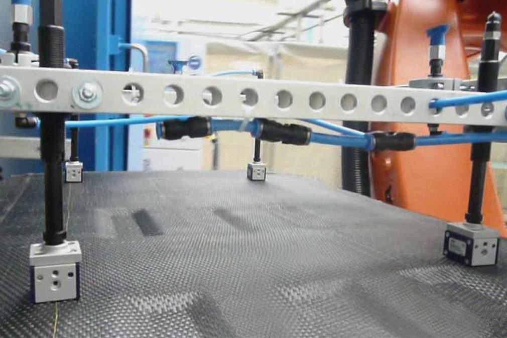 Komponenten für Composite-Textilien