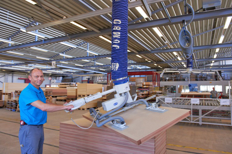 JumboErgo handling door blanks
