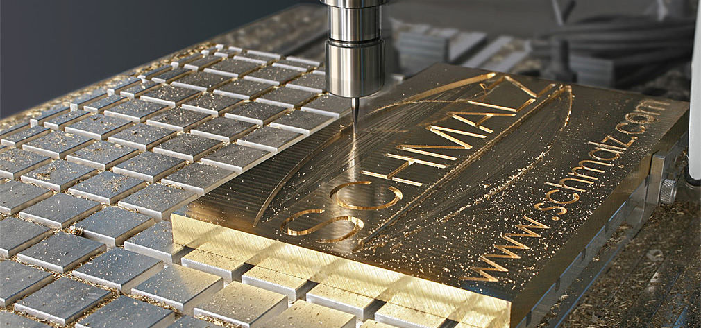 Clamping solutions for workpieces made of metal