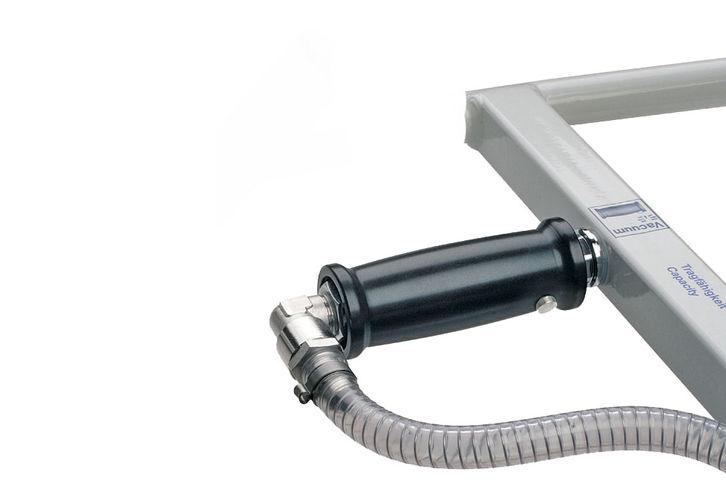 Manual slide valve