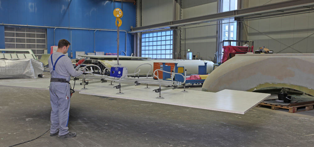 Vacuum Technology for Nacelle Production