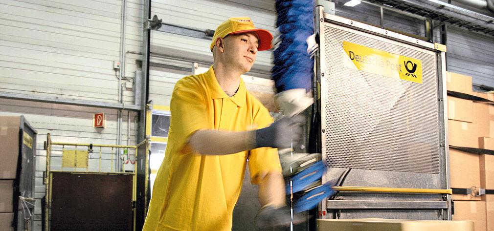 Vakuumheber vom Typ JumboFlex zur schnellen Handhabung von Kartons