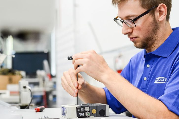 Repairs of Schmalz products and components