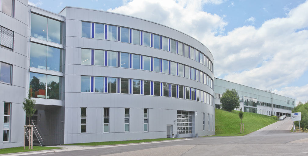 Hauptsitz des Unternehmens in Glatten