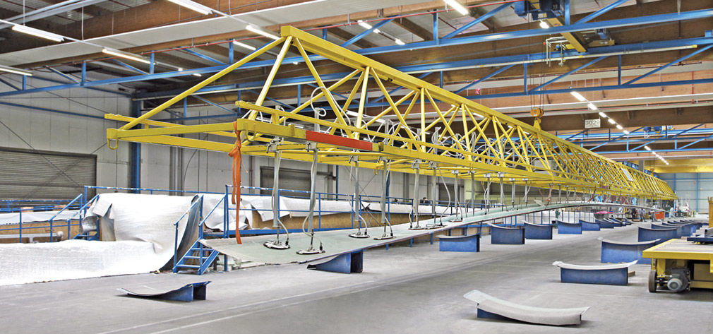 Vacuum Technology for Rotor Blade Production
